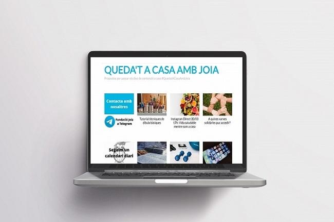 Fundació Joia pagina web canal telegram salut mental