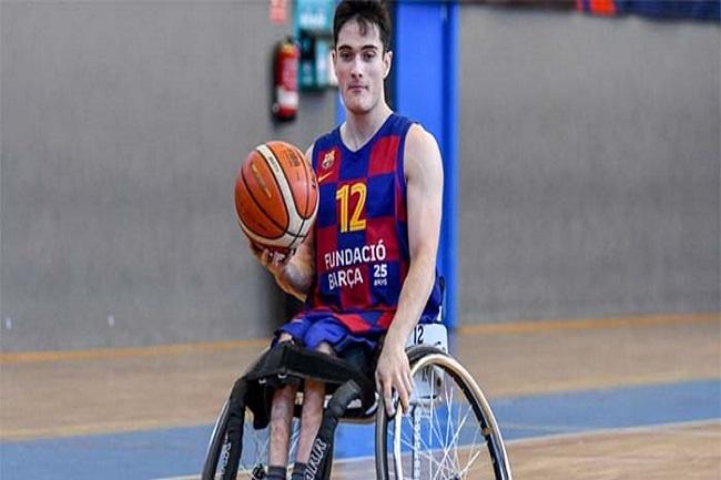 biel carbó jugador bàsquet cadira rodes