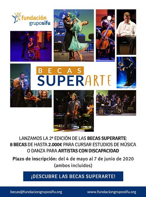 SIFU convoca una nova edició de les 'Becas Superarte' per dansa i música
