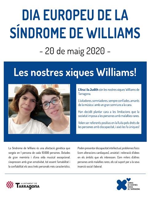 cartell dia europeu síndrome williams tarragona