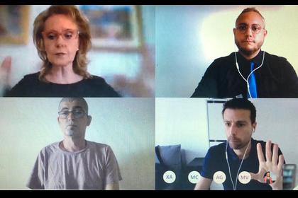videoconferència consellera de cultura