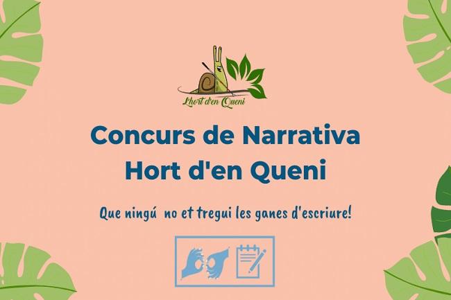 Concurs de narrativa literària l'Hort d'en Queni per a persones amb sordceguesa