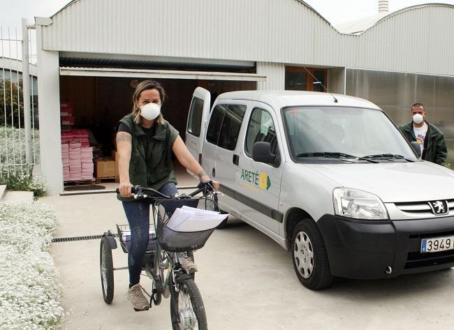ADFO i ARETÉ posen en marxa un servei de missatgeria per empreses d'Osona