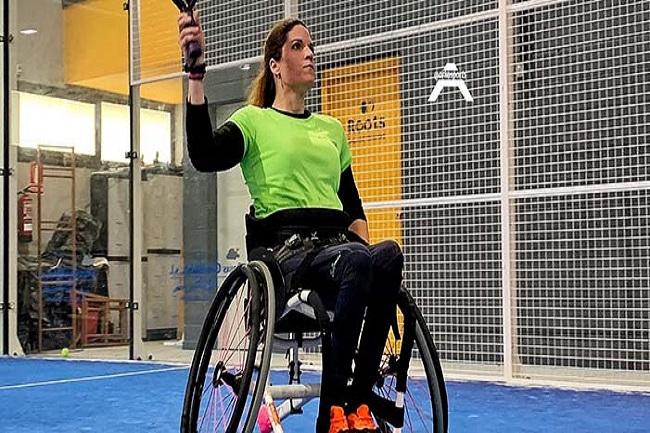 """Susana Rodríguez: """"Hem de continuar lluitant perquè el pàdel en cadira sigui visible"""""""