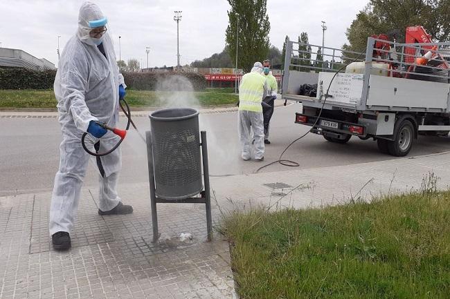 Tac Osona ofereix serveis de neteja i desinfecció per contenir la Covid-19