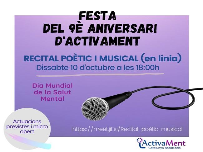 cartell recital poetic i musical activament