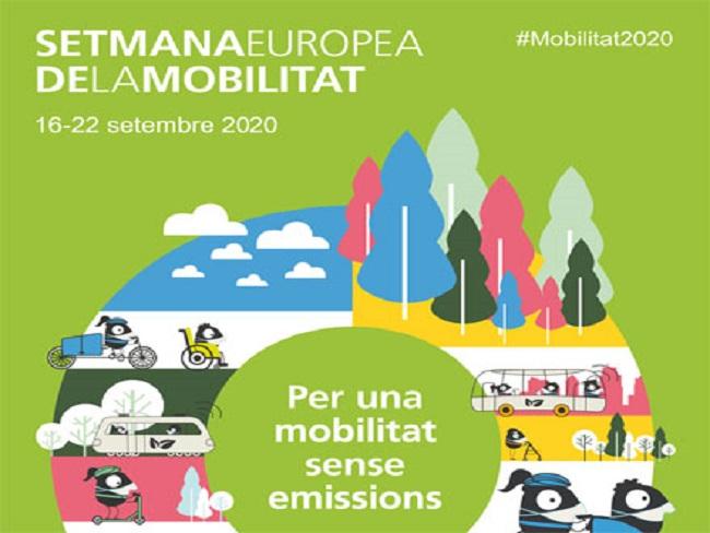 cartell setmana europea mobilitat sostenible cicle webinars