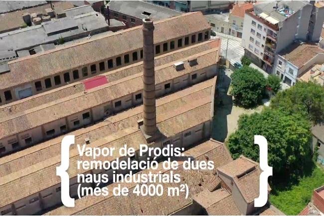 cartell visita institucional vapor prodis