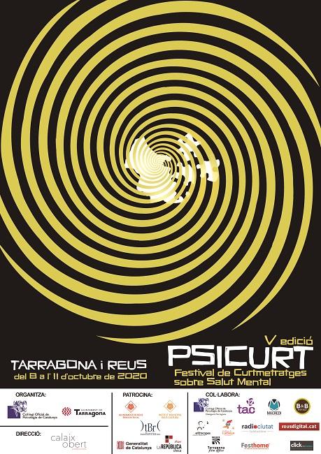 cartell festival psicurt curtmetratges salut mental