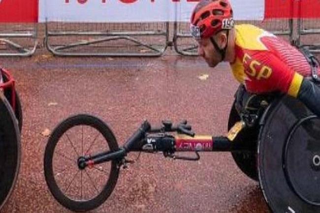 marató londres cadira de rodes