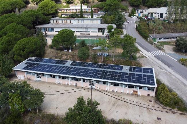 sistema d'autoconsum solar_Fundació el Maresme
