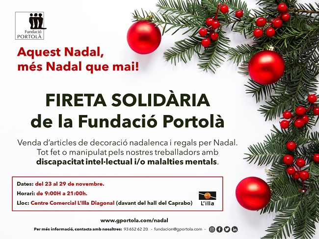 fireta solidaria fundacio portolà