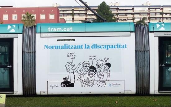 tram campanya normalitzacio discapacitat
