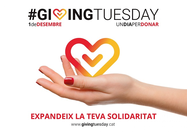 giving tuesday 2020 dia per donar