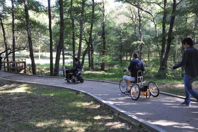 xarxa parcs naturals itineraris accessibles