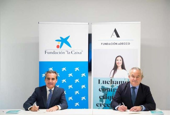 caixa bank i adecco acord inclusio laboral empleo para todos
