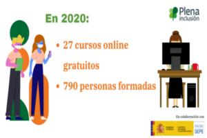 plena inclusio cursos formacio ocupados 2020