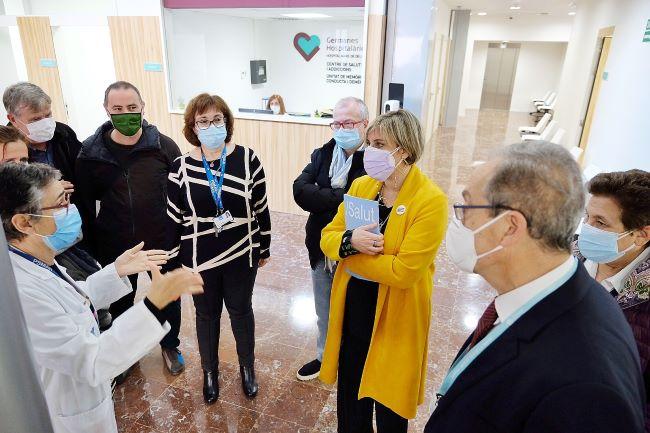alba verges inauguracion centre salut mental barri gracia barcelona
