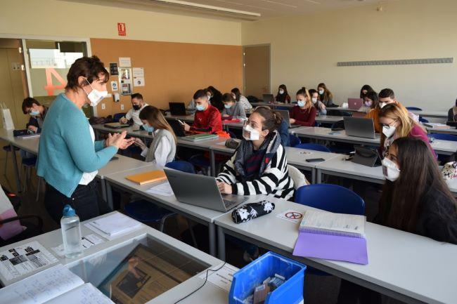 mascaretes comunicatives estudiants universitaries