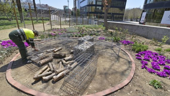 parcs i jardins barcelona persones discapacitat