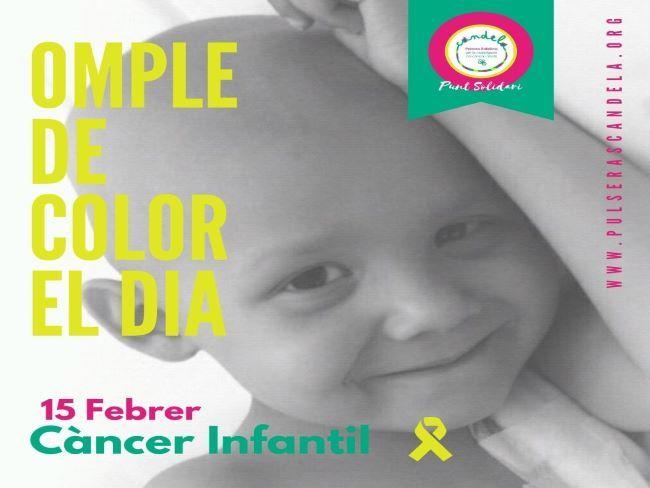 pulseras candela lluita cancer infantil