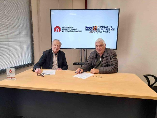 Aliança Cambra Propietat i CEO del Maresme inclusio laboral i social