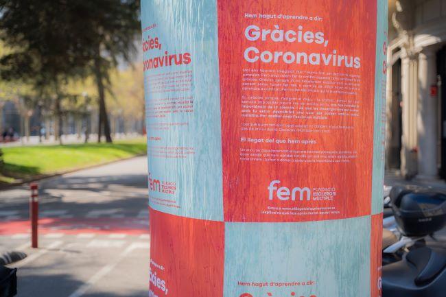 campanya sensibilitzacio gracies coronavirus