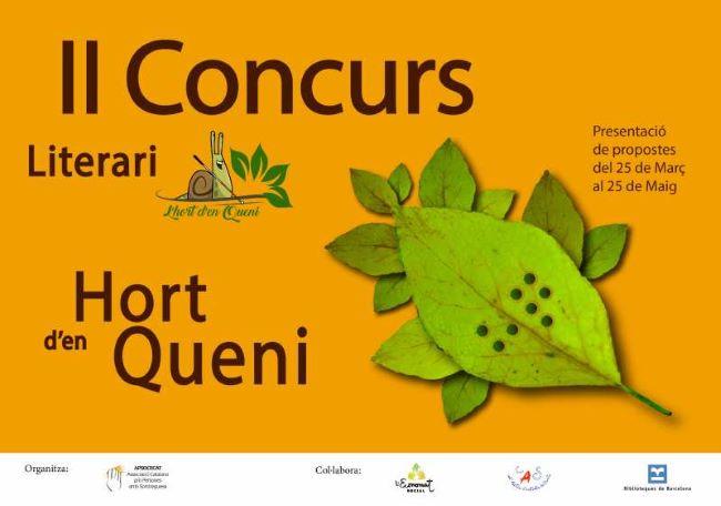 Cartell_II-Concurs-Literari-hort queni