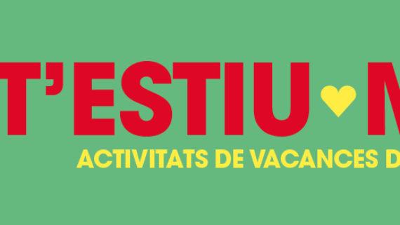 cartell de la campanya t'estiu molt