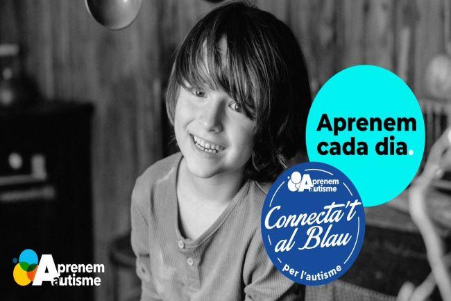 festa connectat al blau autisme
