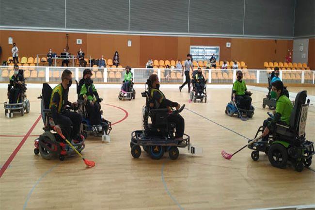 partit lliga catalana hoquei cadira rodes electrica