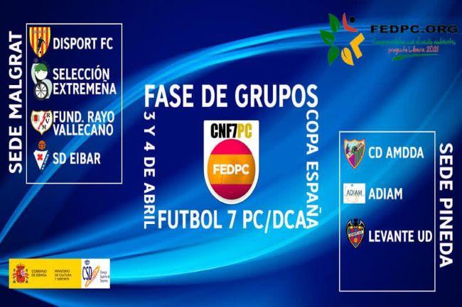 Quadre de la Copa d'Espanya de futbol 7