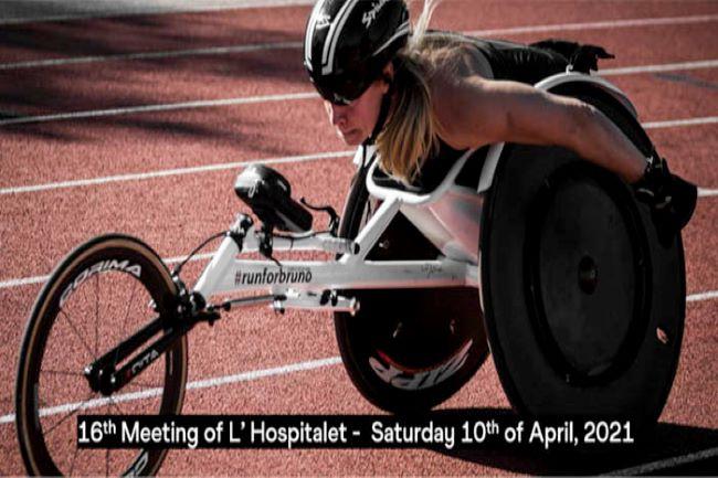 cartell meeting para atletisme hospitalet de llobregat