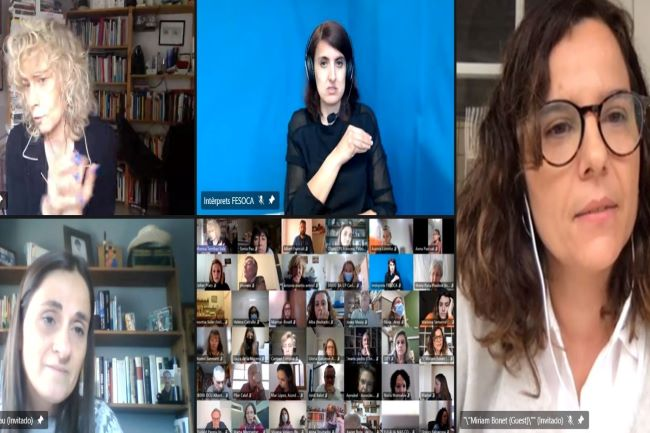 presentació online guia voluntariat accessible