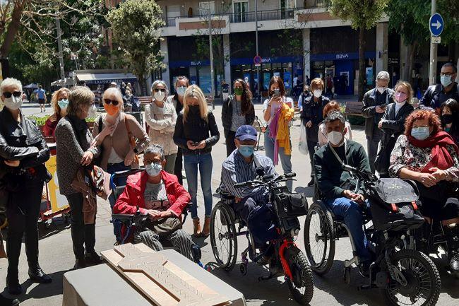 grup persones amb discapacitat barcelona