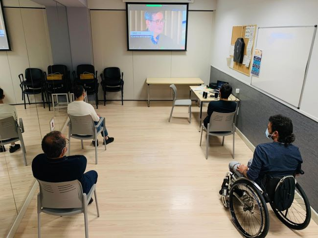 presentació del projecte 'Participa' a Lleida