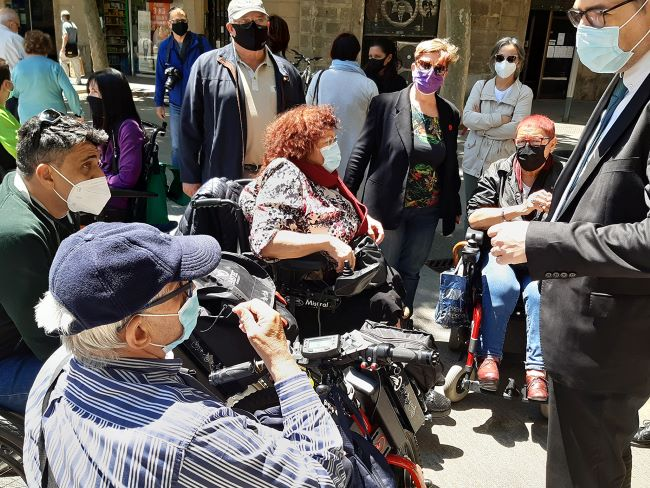 visita persones discapacitat superilla eixample