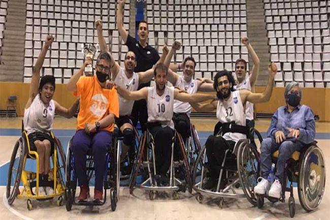 escola afa campió lliga catalana basquet cadira rodes