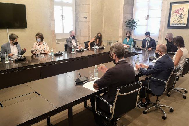 Reunió Taula 3r Sector - Pere Aragonès 2
