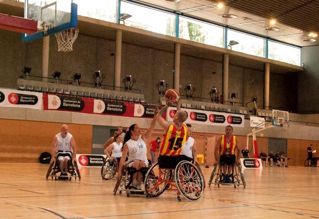 catalunya trofeu ciutat de barcelona bàsquet cadira de rodes
