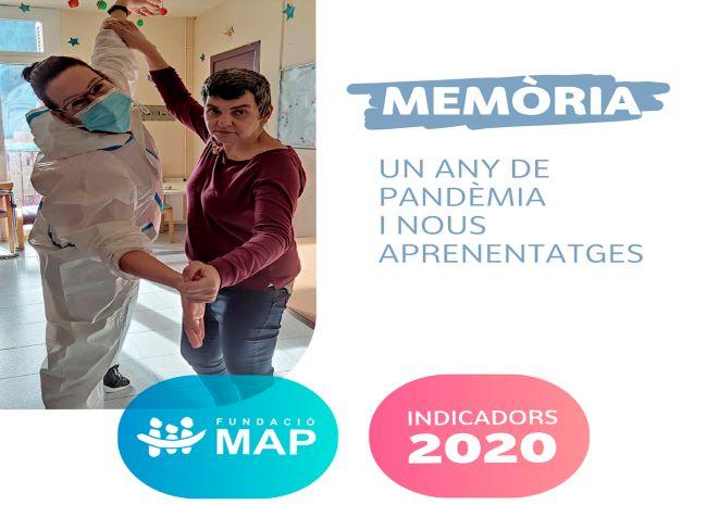 fundacio map memoria 2020 l'any de la pandèmia