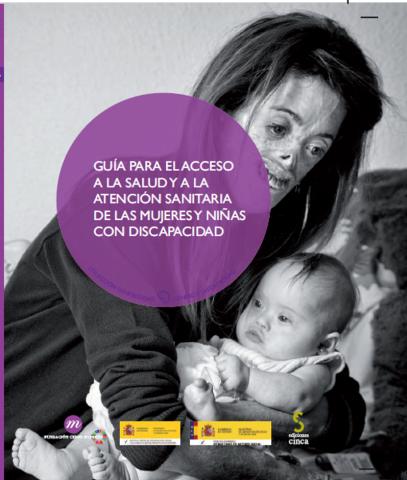 portada guia acces salut i atenció sanitària dones i nenes
