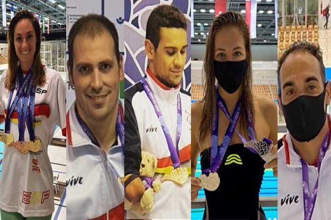 representants natació catalana jocs paralimpics de toquio