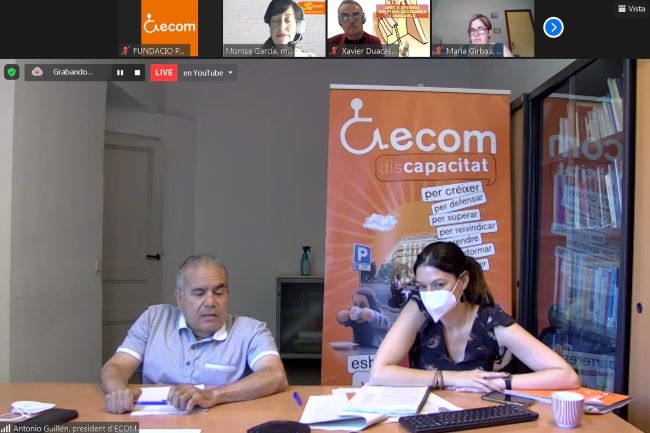 presentacio primer informe radar ecom vulneració drets persones discapacitat