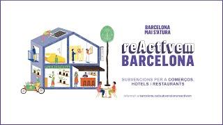 reactivem barcelona ajuts millora accessibilitat establiments