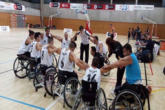 seleccio catalana trofeu ciutat de barcelona basquet cadira de rodes