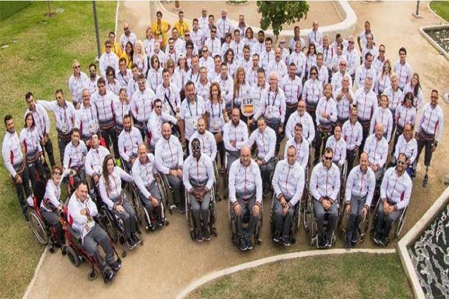 delegacio espanyola jocs paralimpics toquio