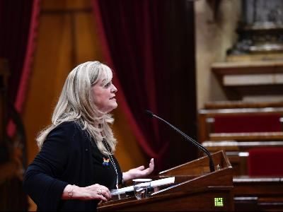 violant cervera consellera drets socials al parlament