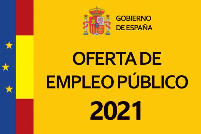 cartell oferta ocupació publica 2021