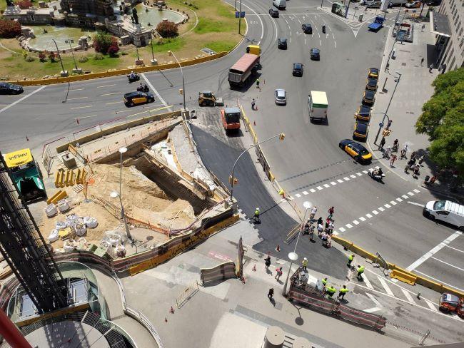 obres millora accessibilitat intercanviador metro plaça espanya